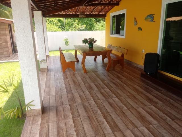 Linda Casa, Frente a Praia, Ilha Itaparica, Piscina, Cond. Fechado, Toda Mobiliada! - Foto 4