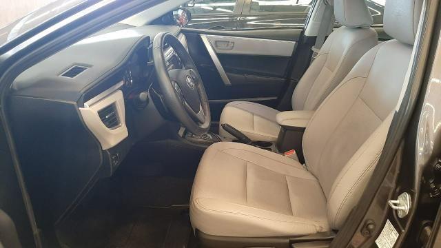 Toyota 2016/2017 Corolla xei 2.0 Automatico cinza completo confira - Foto 9