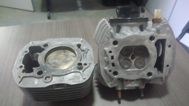 Cabeçote+ cilindro cb 250 ano 2017 - Foto 4
