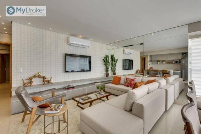 Apartamento com 3 dormitórios à venda, 107 m² por R$ 677. - Setor Bueno - Goiânia/GO