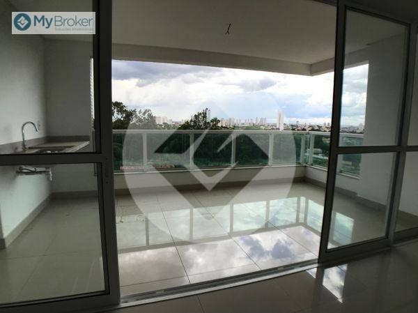 Apartamento com 3 dormitórios à venda, 113 m² por R$ 597.000,00 - Setor Bueno - Goiânia/GO - Foto 3
