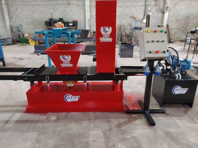 Maquinário para fabricar pavers DORMIDOS lançamento