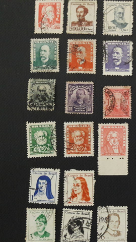 Filatelia, selos raros do Brasil, São Paulo - Foto 3
