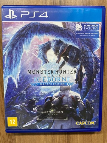 Monster Hunter Iceborne Master Ps4 Mídia Física Português