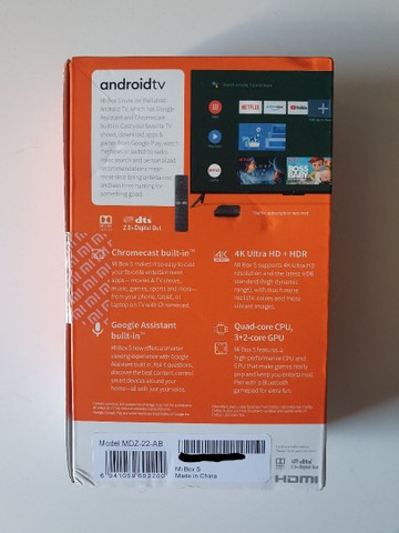 Xiaomi Mi Box S 4K Novo Lacrado Original  - Foto 5