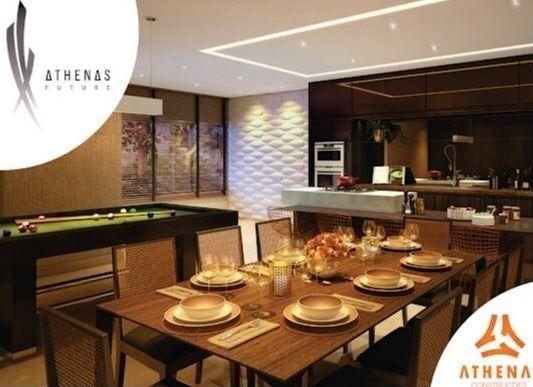 Residencial Athenas Future Living/ Apartamento 67,39m2/ 2 quartos (sendo 1 suíte)/ 1 vaga - Foto 19