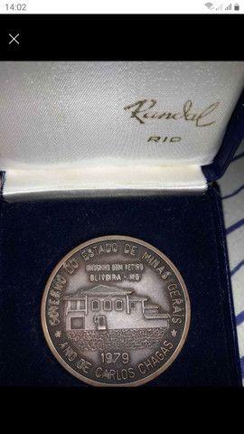 Medalha antiga - Foto 2