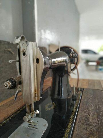 Maquina Costura Antiga Singer Anos 60 - Foto 5