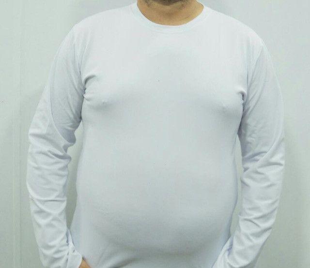 Camisa UV Plus Size Poliéster - Foto 3