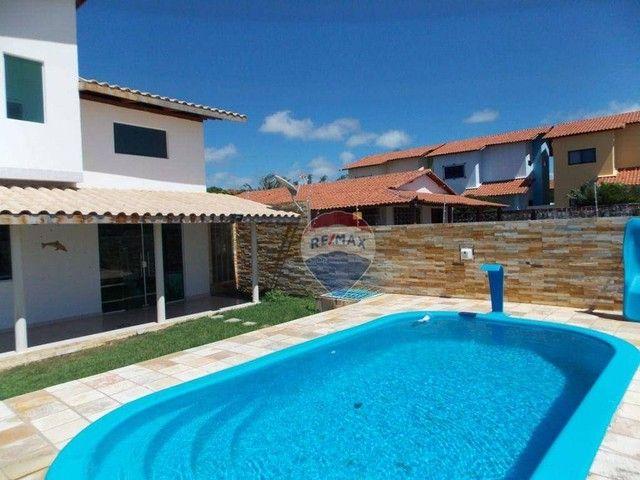 Casa com 4 dormitórios à venda, 322 m² por R$ 459.000,00 - Praia do Amor - Conde/PB - Foto 2