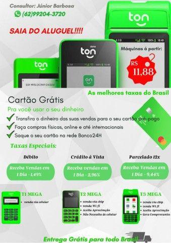 Máquina de Cartão de crédito R$12,00 Goiânia  - Foto 2