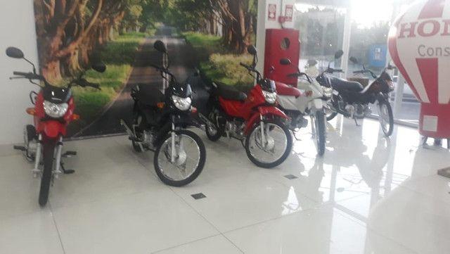 Chegou moto pop 2021 atraves do cnh - Foto 3