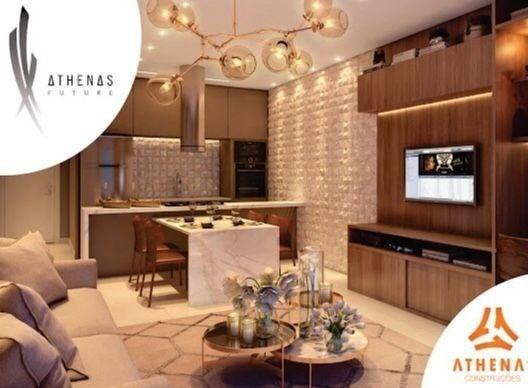 Residencial Athenas Future Living/ Apartamento 67,39m2/ 2 quartos (sendo 1 suíte)/ 1 vaga - Foto 17