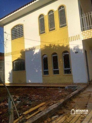 Casa com 3 dormitórios para alugar, 90 m² por R$ 1.100,00/mês - Jardim Alvorada - Maringá/