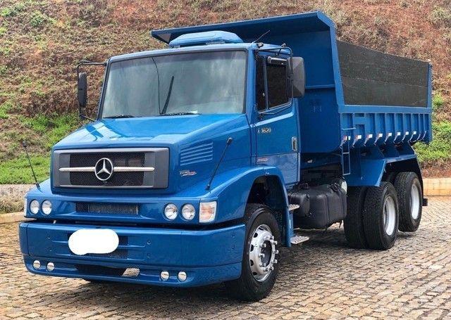 caminhão 1620 basculante 2007