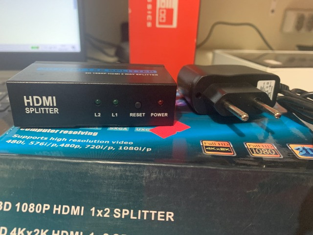 HDMI splitter Series / Ganhei mais Entradas HDMI em seus Aparelhos - Foto 2