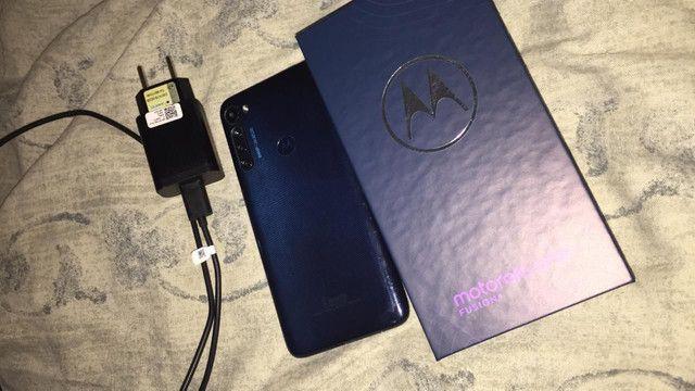 Motorola one fusion plus vendo ou troco