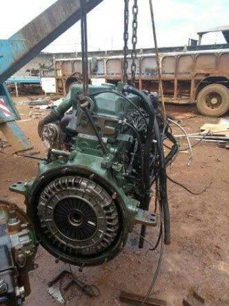 Motor 366 turbinado interculado