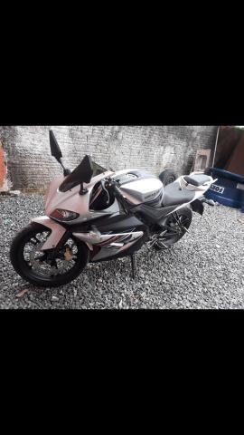 Vendo ou troco moto genata 250r ano2012 - Foto 5