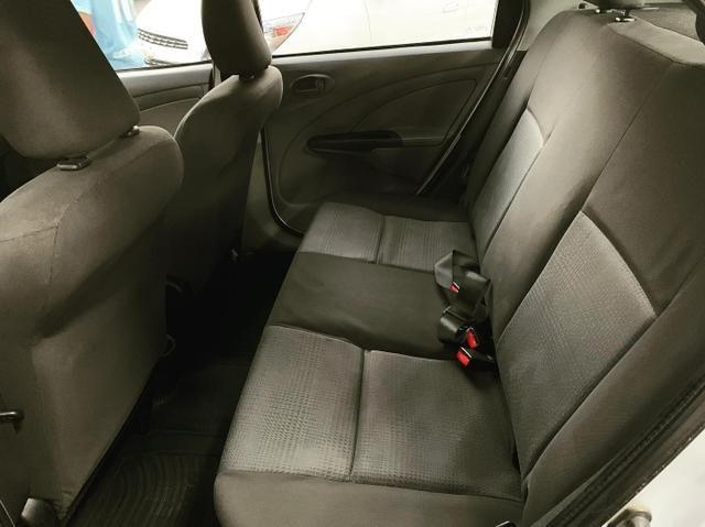 (Junior Veículos)Toyota Etios Sedan Xs 1.5 Completo+Gnv - Foto 9