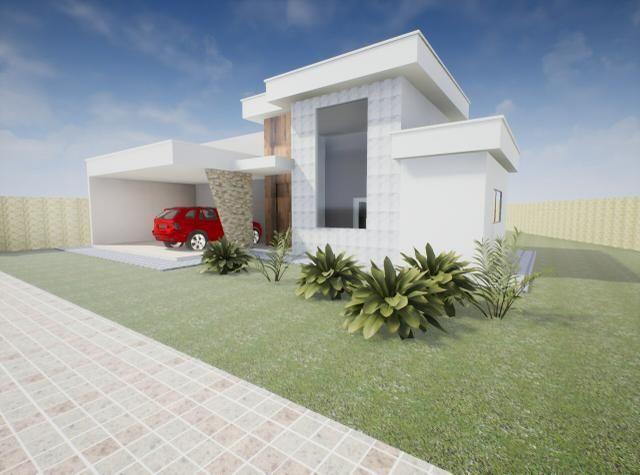 Maravilhosa casa 3 suítes, 2 garagens cobertas, condomínio estância Quintas da alvorada - Foto 6