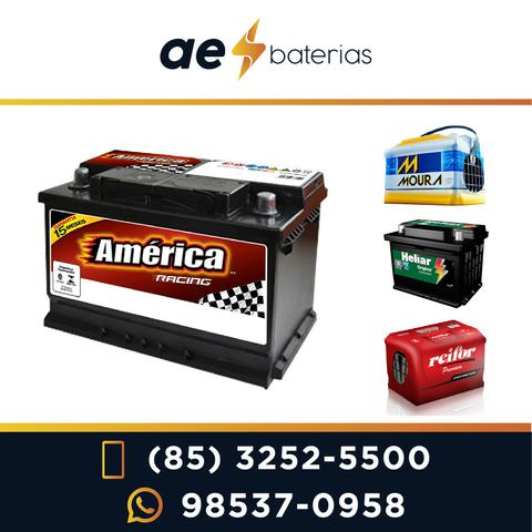 R$180,00 Bateria Para Todo Tipo De Automóvel