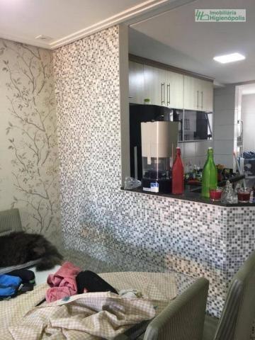 Apartamento com 3 dormitórios à venda, 60 m² por r$ 330.000 - parque bandeirante - santo a - Foto 4