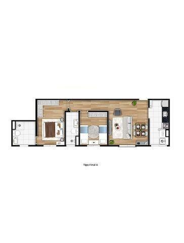 MA82= Apartamento de 50m² e 65m² com suíte, 2 dormitórios, 1 vaga - Osasco - Quitaúna - Foto 19