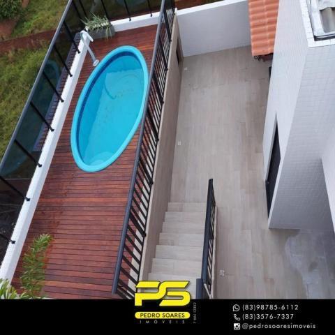 Cobertura com 3 dormitórios à venda, 142 m² por R$ 555.000 - Jardim Cidade Universitária - - Foto 11