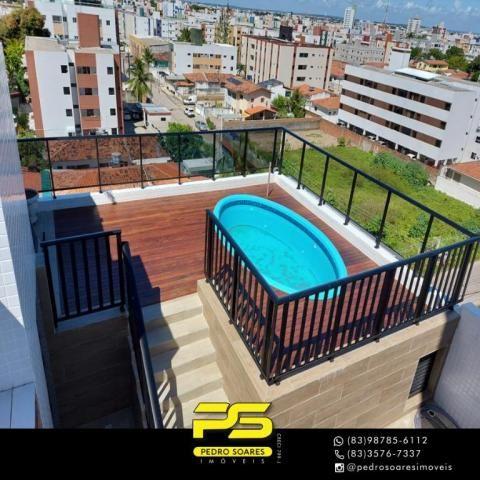 Cobertura com 3 dormitórios à venda, 142 m² por R$ 555.000 - Jardim Cidade Universitária - - Foto 8
