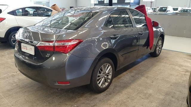 Toyota 2016/2017 Corolla xei 2.0 Automatico cinza completo confira - Foto 5
