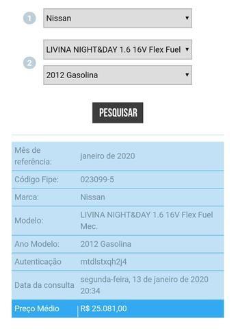 Vendo NISSAN LIVINA 2012/2013 - Foto 8