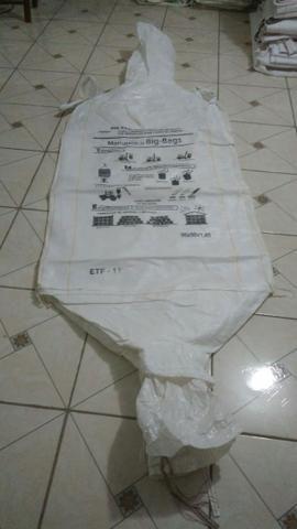 Big bag usado 0,90x0,90x1,20 - lavado semi novo
