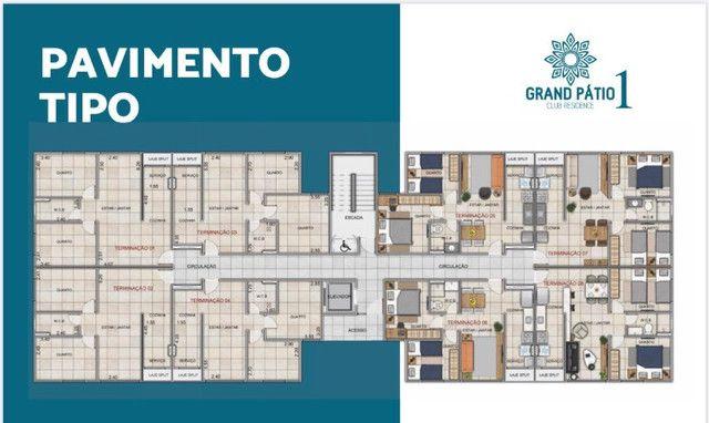 Residencial Grand Pátio 1 - Entrada parcelada em até 80 meses - Foto 8