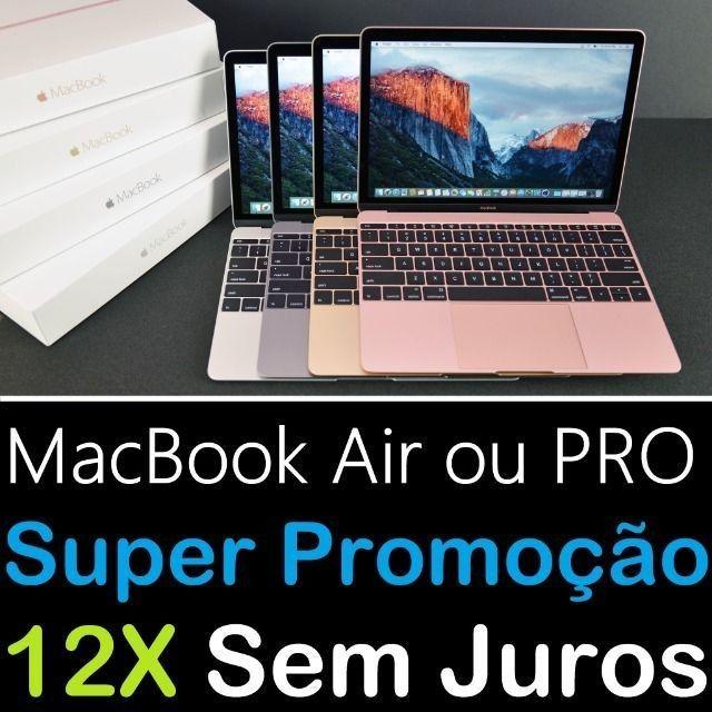 MacBook Air ou PRO ( 12X Sem Juros + Nota Fiscal ) M1 Toda Linha Apple