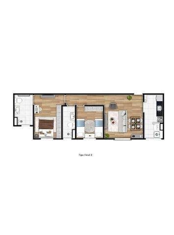 MA82= Apartamento de 50m² e 65m² com suíte, 2 dormitórios, 1 vaga - Osasco - Quitaúna - Foto 18