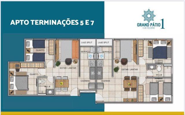 Residencial Grand Pátio 1 - Entrada parcelada em até 80 meses - Foto 6