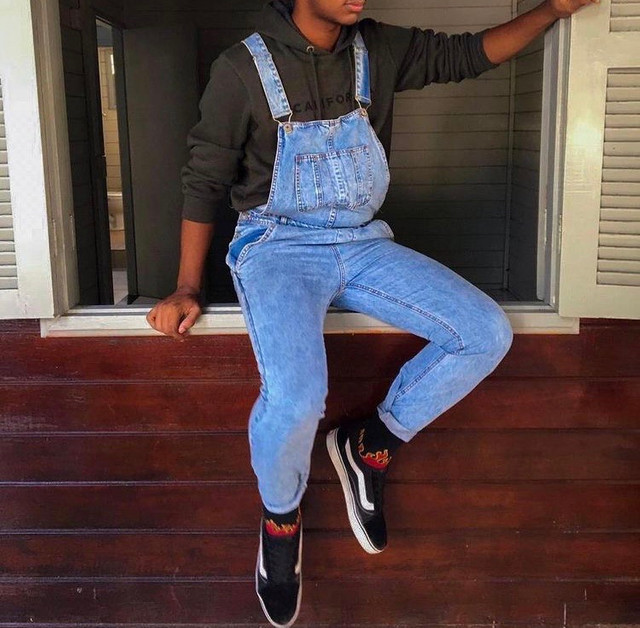 Macacão Masculino Jeans  - Foto 3