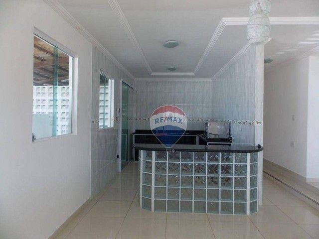 Casa com 4 dormitórios à venda, 322 m² por R$ 459.000,00 - Praia do Amor - Conde/PB - Foto 7