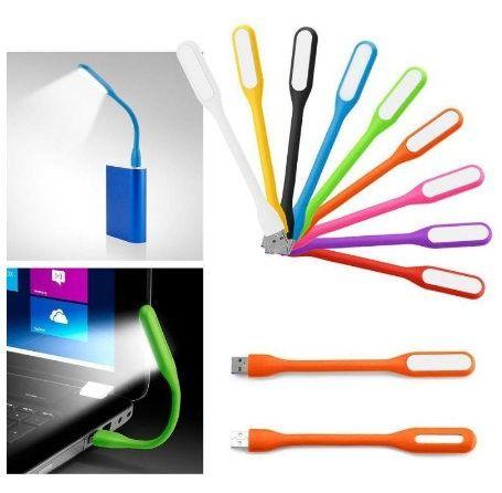 Kit Com 2 Luminárias Led USB Na Cor Verde