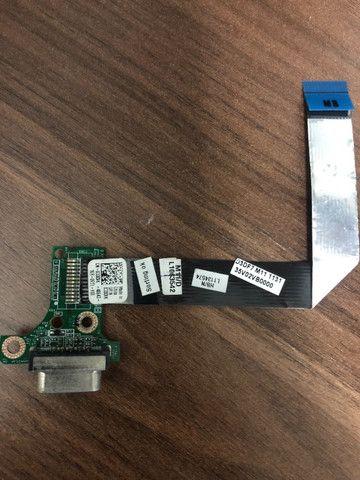 Conector Placa Vga P/ Note Dell Vostro 3450 Inspiron - Foto 2