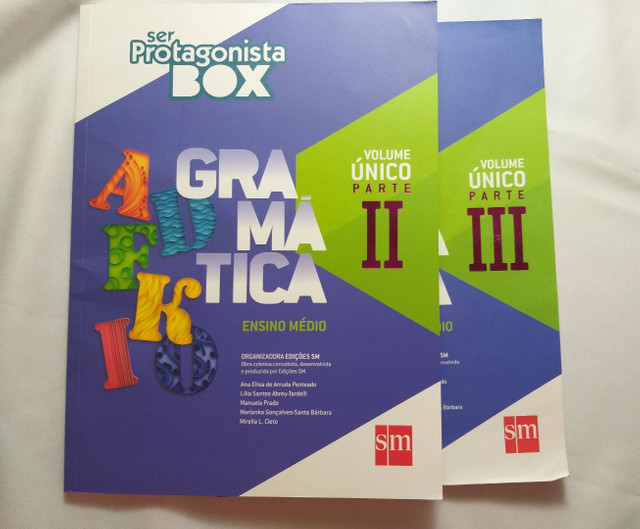 Livro Ser Protagonista Box Gramática - Ensino Médio  - Foto 4