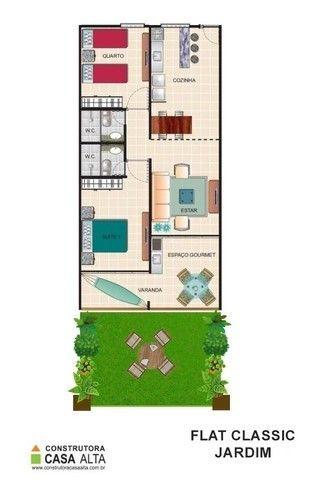 Flat Studio em 60 Meses no Hotel Fazenda Monte Castelo (em fase de construção) Ref. 144 - Foto 7