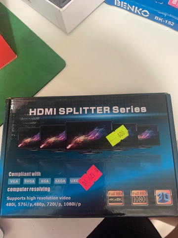 HDMI splitter Series / Ganhei mais Entradas HDMI em seus Aparelhos
