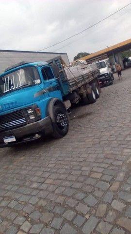 1513 Mercedes bens top caminhão todo revisado - Foto 4