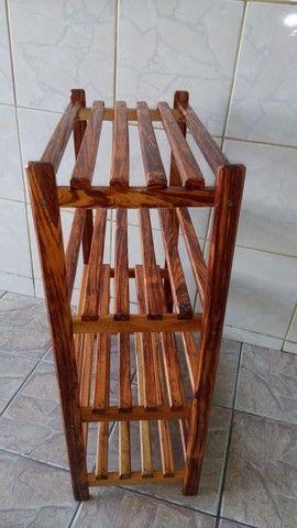 Sapateira de madeira  - Foto 2