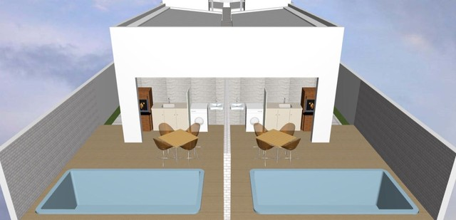 Vendo casa com piscina 3 quartos no Cristo  - Foto 5