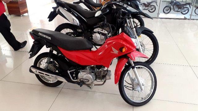 Chegou moto pop 2021 atraves do cnh - Foto 4