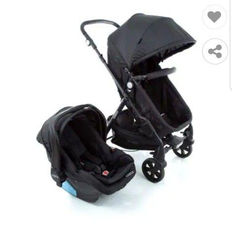 Carrinho para bebê Travel System Duo Poppy Cosco
