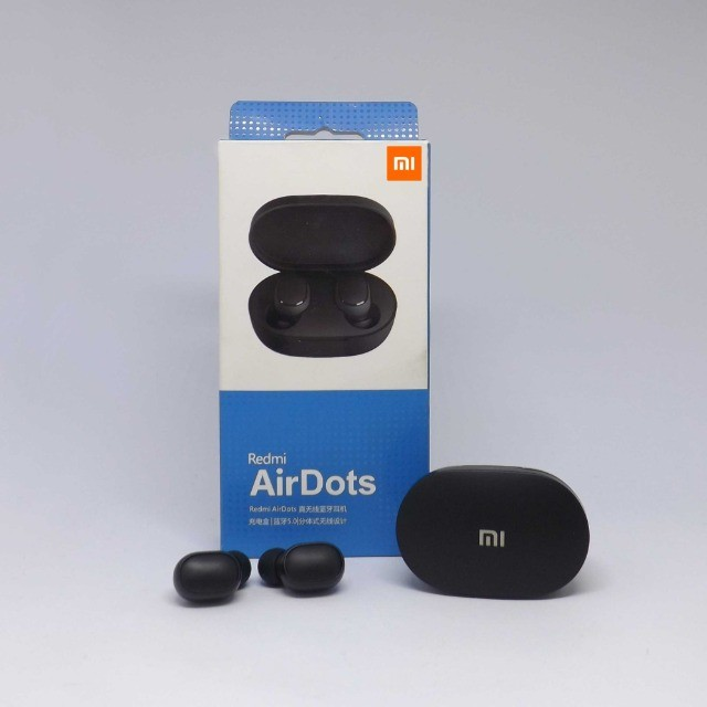 Fone Sem Fio Redmi Airdots Xiaomi Tws Bluetooth Preto